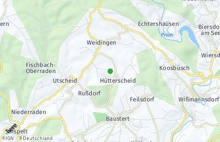 Stadtplan Hütterscheid