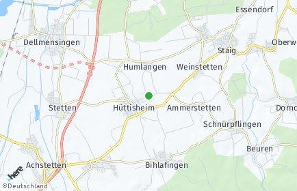 Stadtplan Hüttisheim