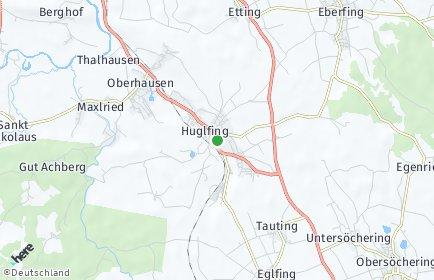 Stadtplan Huglfing