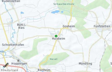 Stadtplan Huisheim