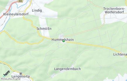 Stadtplan Hummelshain