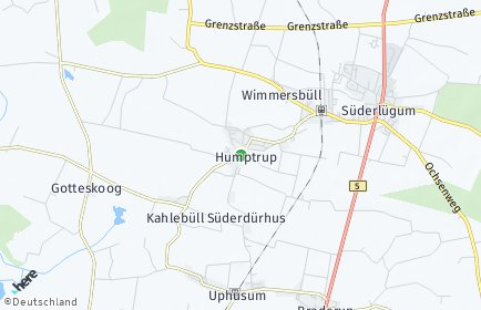 Stadtplan Humptrup