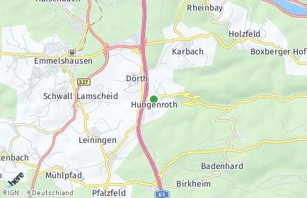 Stadtplan Hungenroth