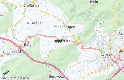 Stadtplan Hupperath