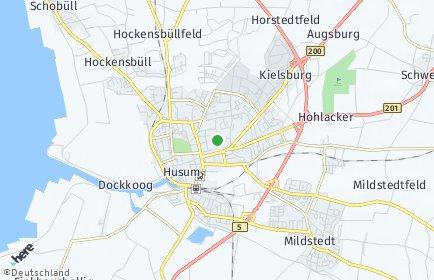 Stadtplan Husum