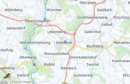 Stadtplan Hutthurm