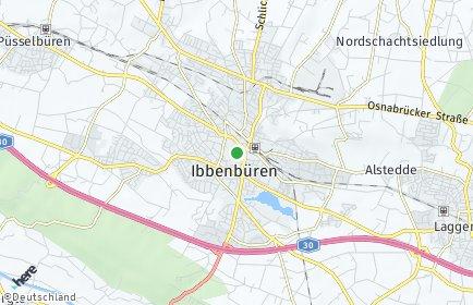 Stadtplan Ibbenbüren