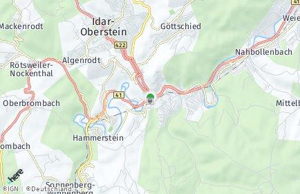 Stadtplan Idar-Oberstein