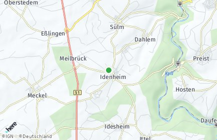 Stadtplan Idenheim
