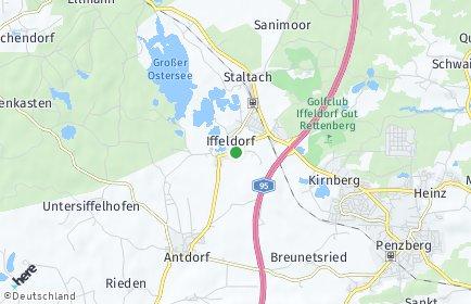 Stadtplan Iffeldorf