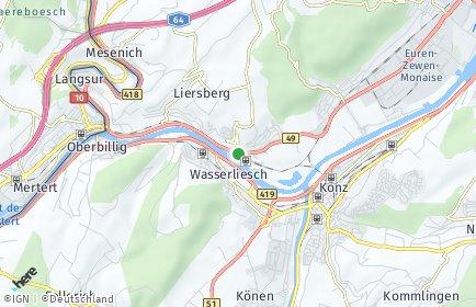Stadtplan Igel