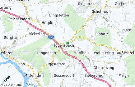 Stadtplan Iggensbach