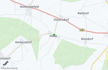 Stadtplan Ihlow (Fläming)