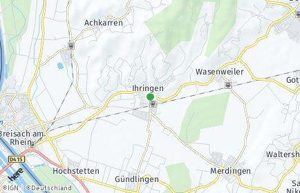 Stadtplan Ihringen
