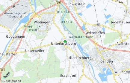 Stadtplan Illerkirchberg OT Mussingen