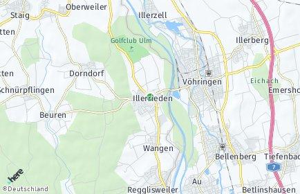 Stadtplan Illerrieden