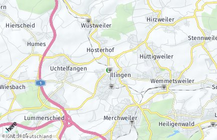 Stadtplan Illingen (Saar)