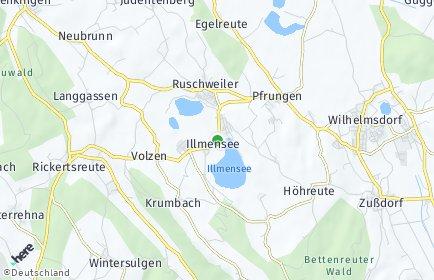 Stadtplan Illmensee