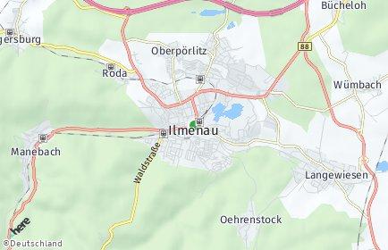 Stadtplan Ilmenau