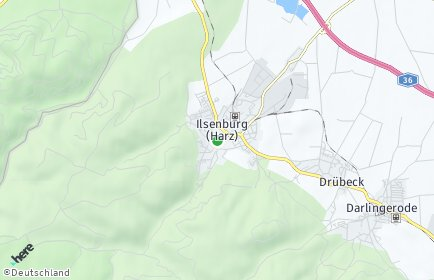 Stadtplan Ilsenburg (Harz)