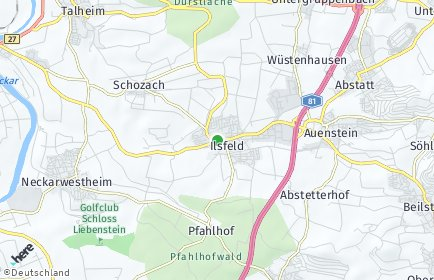 Stadtplan Ilsfeld