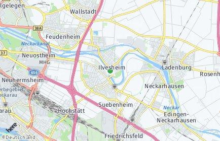 Stadtplan Ilvesheim