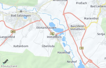 Stadtplan Barchfeld-Immelborn