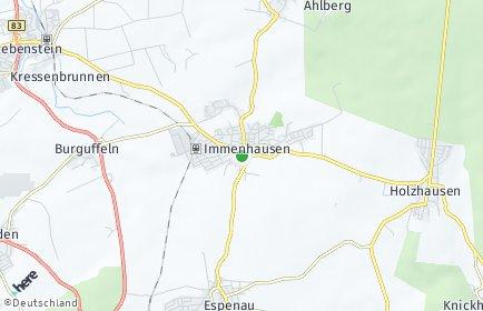 Stadtplan Immenhausen