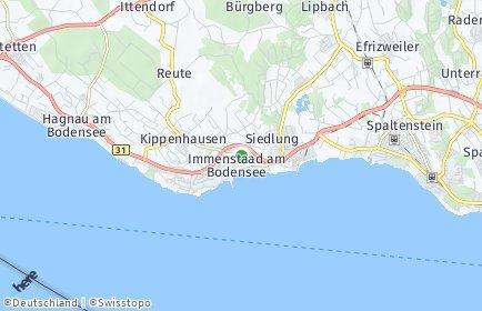 Stadtplan Immenstaad am Bodensee