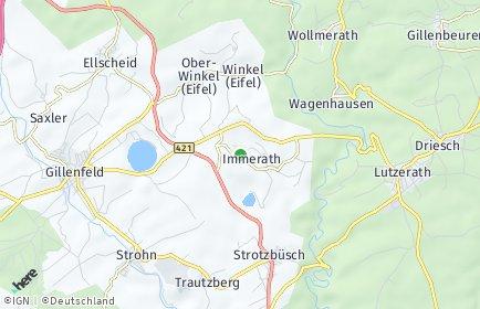 Stadtplan Immerath