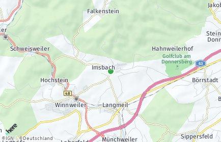 Stadtplan Imsbach