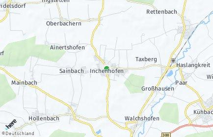 Stadtplan Inchenhofen