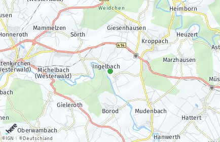 Stadtplan Ingelbach