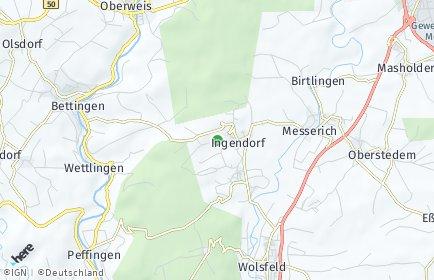 Stadtplan Ingendorf