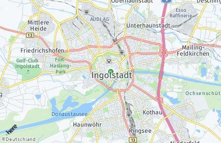 Stadtplan Ingolstadt