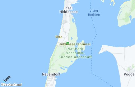 Stadtplan Insel Hiddensee