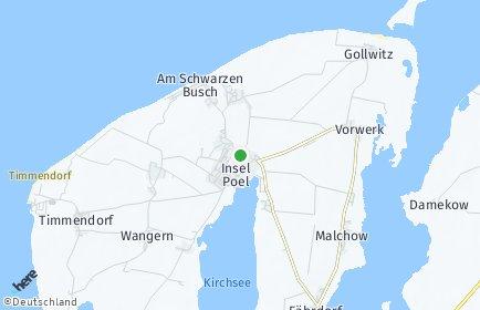 Stadtplan Insel Poel