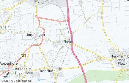 Stadtplan Insheim