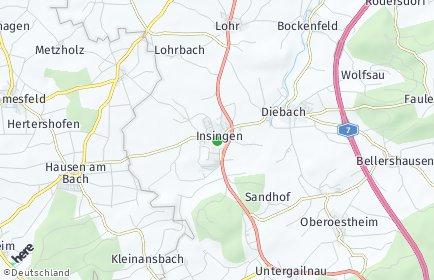 Stadtplan Insingen