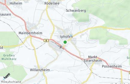 Stadtplan Iphofen