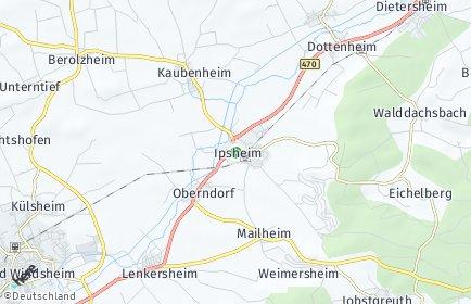 Stadtplan Ipsheim