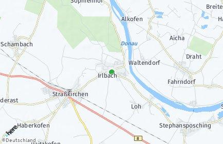 Stadtplan Irlbach