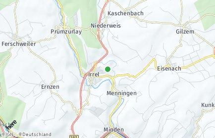 Stadtplan Irrel