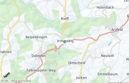 Stadtplan Irrhausen