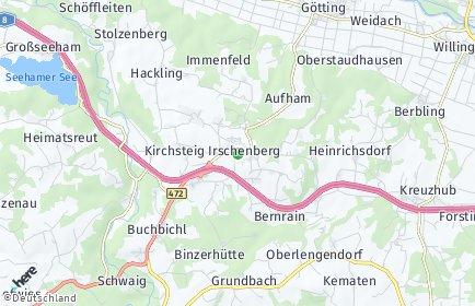 Stadtplan Irschenberg