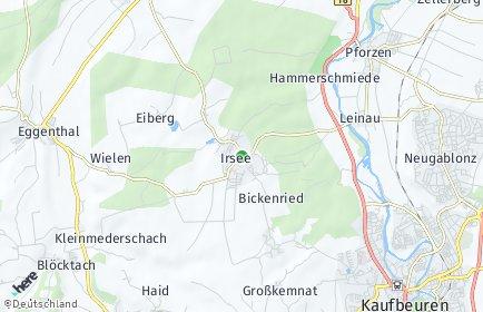 Stadtplan Irsee