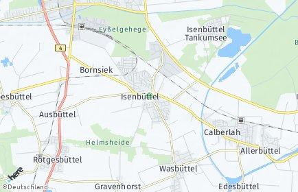 Stadtplan Isenbüttel
