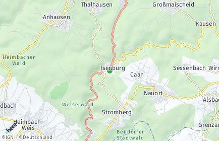 Stadtplan Isenburg