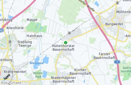 Stadtplan Isernhagen