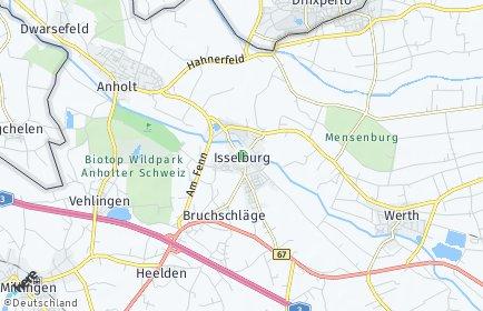 Stadtplan Isselburg